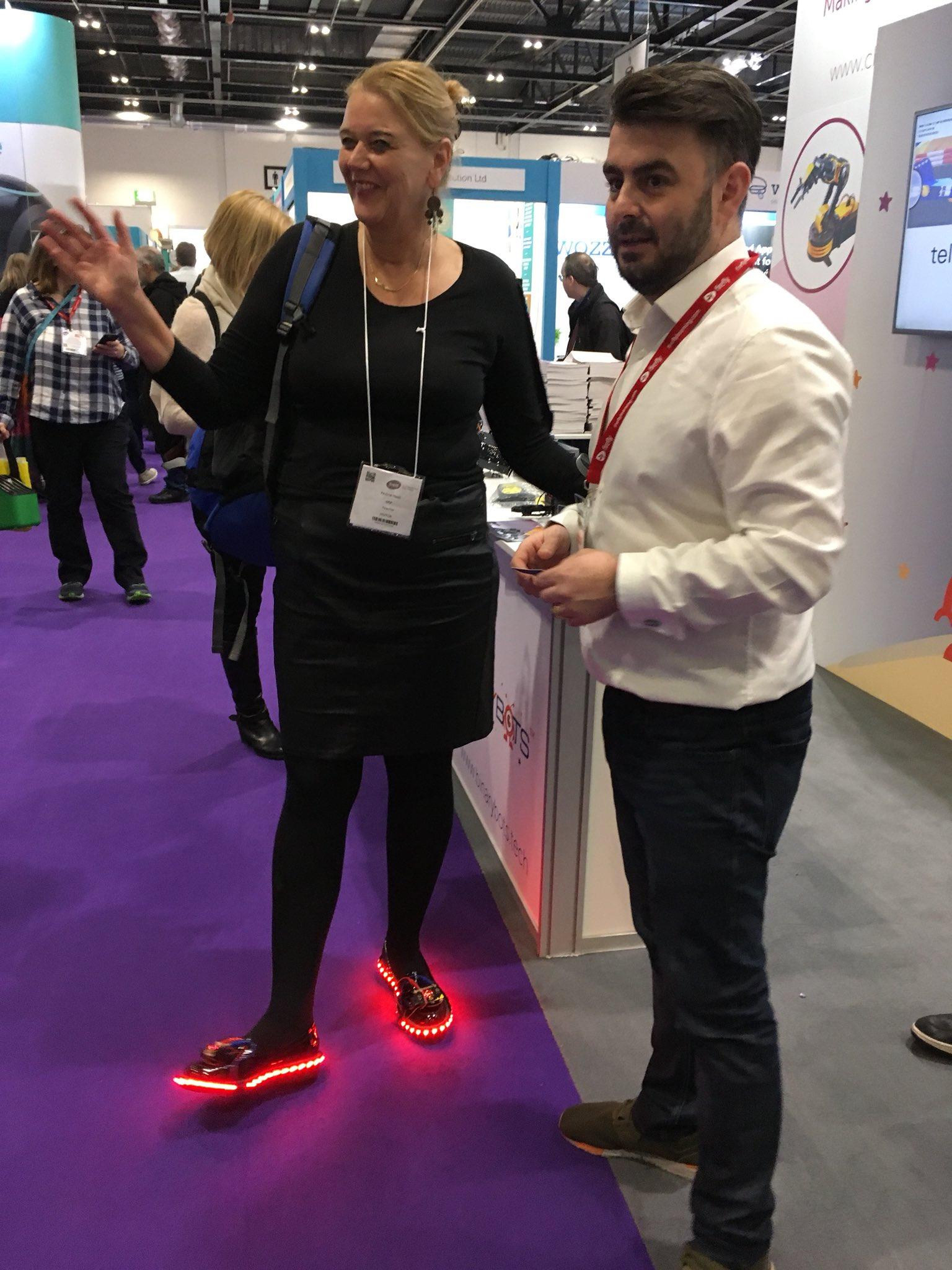Microbit Neopixel schoenen